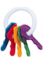 The First Year's Learning Curve First Keys Teether (3-Pack)
