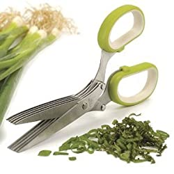 Multi-Blade Herb Scissors - Green by RSVP International
