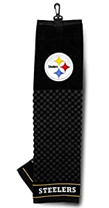 "NFL Officially Licensed 16""x22"" Embroidered Golf Towel Pittsburgh Steelers"