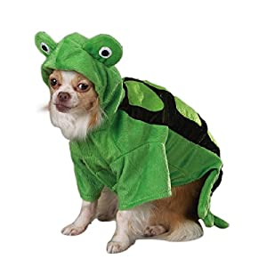 Zack & Zoey Polyester Turtle Dog Costume, X-Small