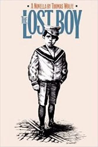 Book cover for The lost boy.