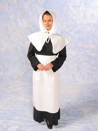 Amazon.com: Pilgrim / Puritan Lady Costume: Clothing