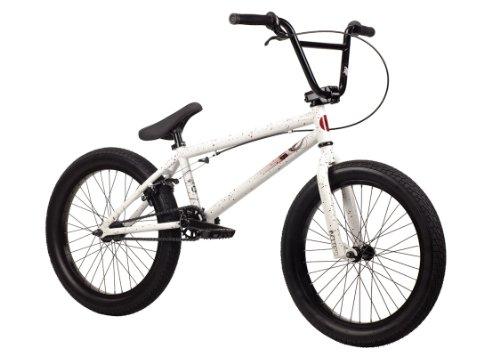 Kink 2014 Curb BMX Bike, Gloss White, Toptube: 20-Inch