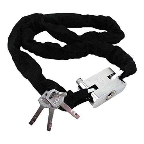 theft-chain-sodialr-catena-antifurto-metallo-scooter-moto-bici-rivestito-lucchetto-con-3-chiavi-nero