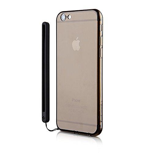 Simplism iPhone 6/6s [Aegis] フルカバークリスタルケース クリアブラック TR-CCIP154-CLBK