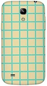 Timpax protective Armor Hard Bumper Back Case Cover. Multicolor printed on 3 Dimensional case with latest & finest graphic design art. Compatible with Samsung I9190 Galaxy S4 mini Design No : TDZ-22834