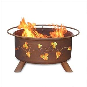"""Bundle-75 Grapevines Fire Pit (3 Pieces) Size: 6 """"H"""