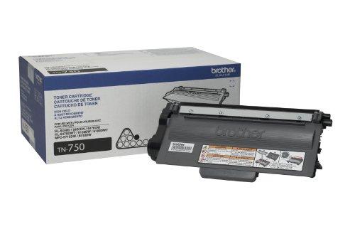 Brother Printer TN750 High Yield Toner Cartridge