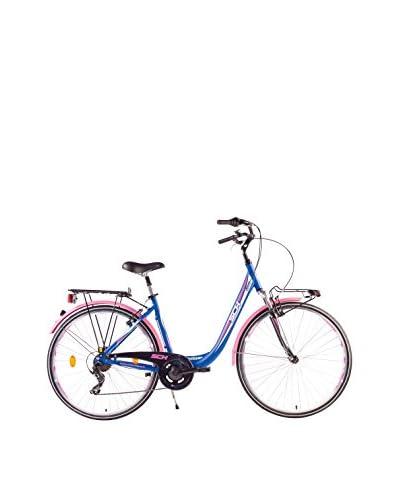 SCH Bicicleta Sweet All. 28″ 7V. Shimano Azul Celeste / Magenta
