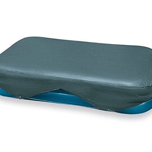 Preisvergleich intex rectangular frame pool cover grau for Preisvergleich pool
