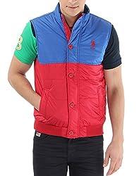 US Polo Association Men's Cotton Sweatshirt (8907163185808_USSS0114_Large_Blue)
