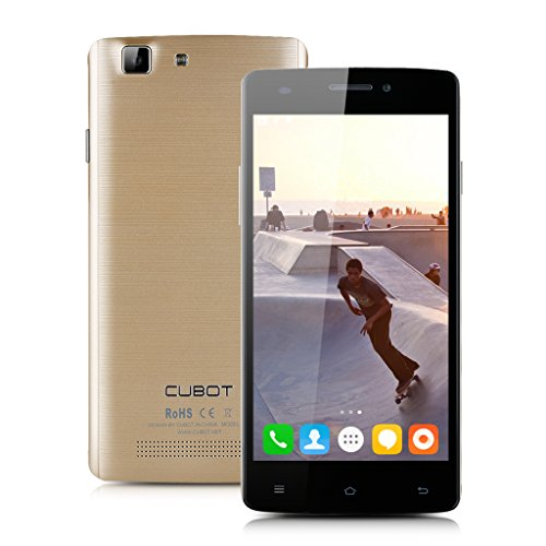 Gold CUBOT x12 FDD-LTE 4G-Smartphone