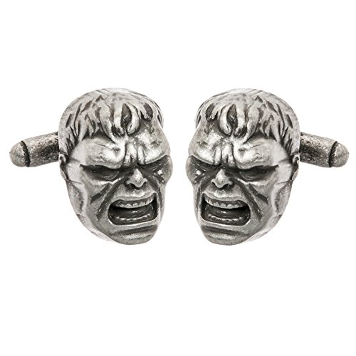 Marvel Comics Mens Superhero 3D Cufflinks w/ Gift Box