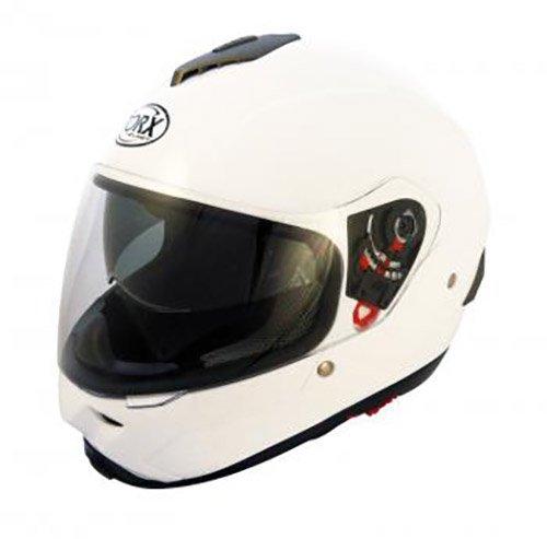Casque MOTO intégral TORX CRAIG Blanc Taille L