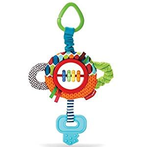 Skip Hop Rattle and Play Stroller Toy, Tug and Clatter Key