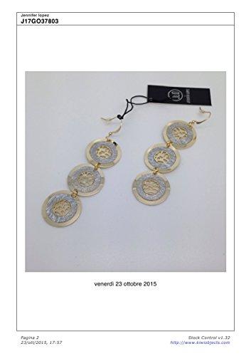 J17GO37803 Jlo by Jennifer Lopez Orecchini Pendenti in Metallo