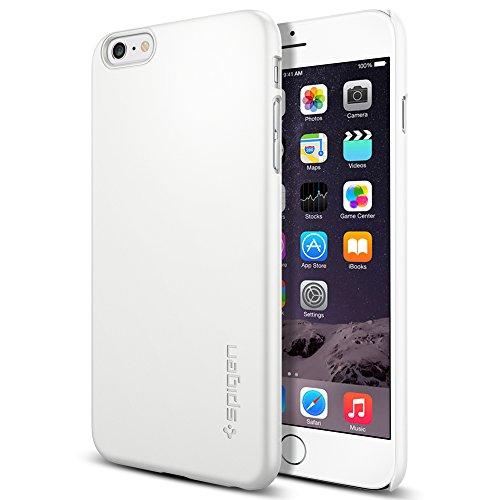 iPhone 6 Plus ケース Spigen [滑り防止加工] シン ・フィット Apple iPhone (5.5) (国内正規品) (シマリー・ホワイト SGP11101)
