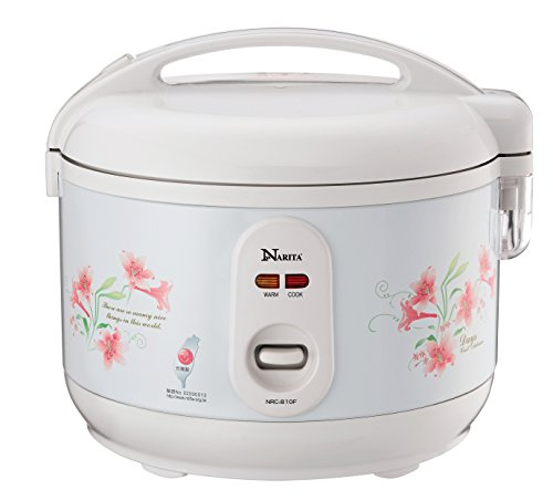 Narita Deluxe Rice Cooker (6 Cup Uncooked) (2-12 Cooked) (Taiwan Rice Cooker compare prices)