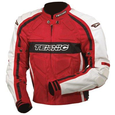 Black Mesh Motorcycle Vest on Supervent Mesh Motorcycle Jacket Medium  Size 40  Red Black White