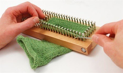 KB Sock Loom Adjustable Wood Knitting Board Kit w/ DVD