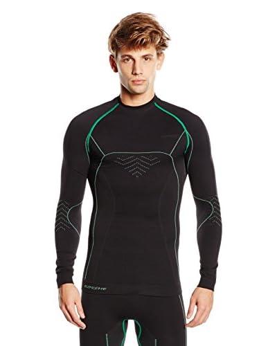 SPAIO ® Camiseta Técnica Supreme Negro / Verde