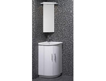 Orca Wentworth Corner Cabinet & Basin vanity Unit