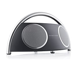 Harman Kardon Go + Play Portable Speakers System with Dock for iPod (Black/Silver)