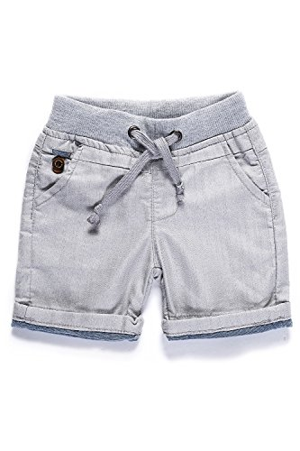 Little-Guest Baby Boys' Clothes Casual Knee-Length Shorts B218 (24-30 Months, Light Gray) Kids Casual Shorts