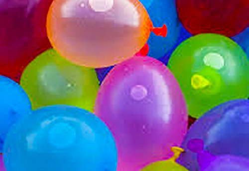 myLife Multi Colored – Flexible Latex Rubber (100 Count Pack – Standard Size) Water Bomb Grenade Balloons (Ultimate Water Fight)