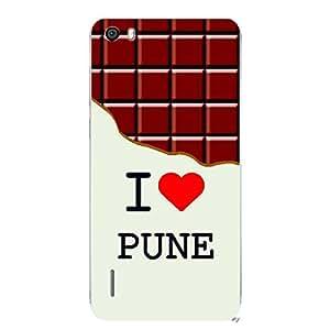Skin4gadgets I love Pune - Chocolate Pattern Phone Skin for HONOR 6 PLUS