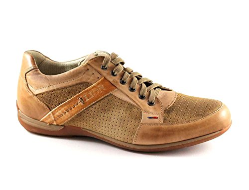 LION 20052 canapa scarpe uomo antistatiche sportive pelle 44