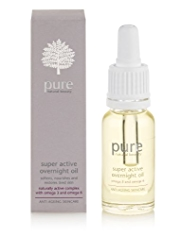 Pure Anti-Ageing Super Active Overnight Oil 12ml