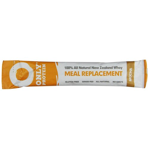 New - Only Protein Meal Replacement - Whey - Packets - Mocha - 15 Count