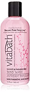 Vitabath Body Wash, Dreamy Pink Frosting with Sweet Almond Extract , 12 Ounce