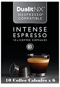Purchase Dualit NX INTENSE Espresso Café Coffee Capsules (Pack of 60) - Dualit