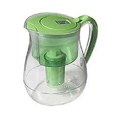 Brita Water Filter Pitcher, Monterey Model, 2 Filters, 10 Cup Capacity (Green)