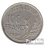 Francia km-No.. : 919 1955 muy ya Cobre-Nickel 1955 100 FF libertad (monedas para los coleccionistas)