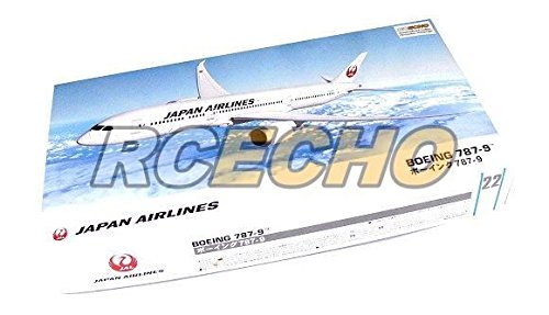 rcechor-hasegawa-aircraft-model-1-200-jp-airlines-boeing-787-9-22-hobby-10722-h0722-with-rcechor-ful