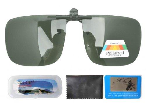 Eyekepper Große Sonnenbrillen-Clip für Brillenträger Grün