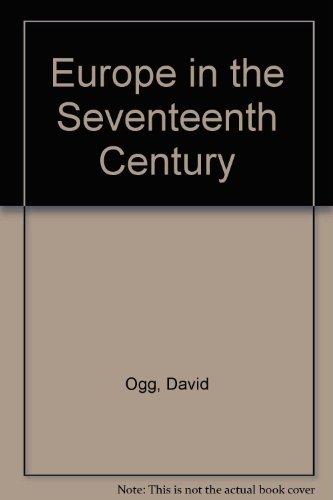 Europe in the Seventeenth Century PDF