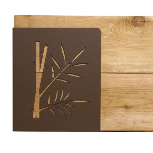 Outdoor Essentials 130376 M Brace Raised Garden Bed Bracket Kit, Bamboo, Antique Bronze front-865455