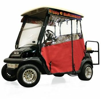 halloween golf cart decorations