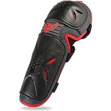 Fly Racing Flex II Adult Elbow Guard MotoX/Off-Road/Dirt Bike Motorcycle Body Armor - Black / One Size
