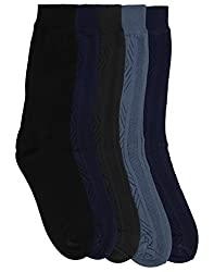 Mikado Multi Colour Full Lenght Socks for Men - 10 Pair Pack