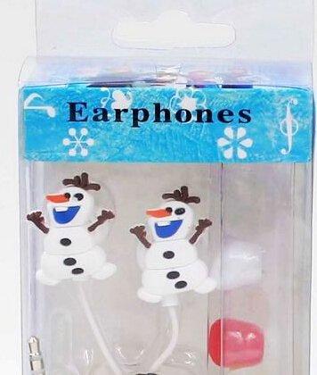 Semmerning-Creative Cartoon Cute Frozen In-Ear Headphones Earphones