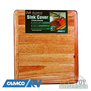Amazon.com: Wooden RV Sink Cover Cutting Board: Kitchen