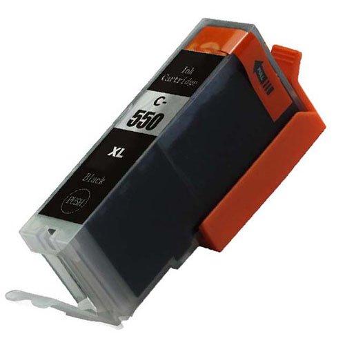1 X PGI - 550 Schwarz High Capacity Kompatible Tintenpatronen für Canon Pixma iP7250 iP8750 iX6850,,, MG5650, MG5450, MG5550, MG6350, MG6450, MG7150, MG6650, MG7550, MX725, MX925