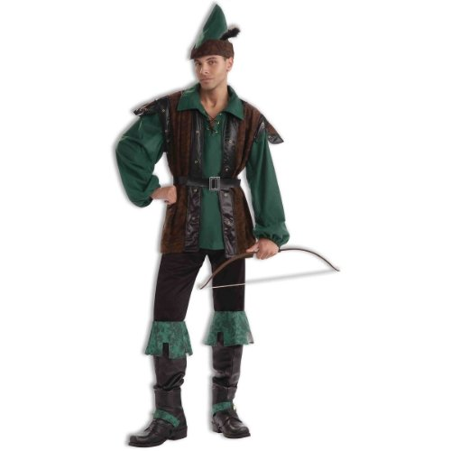 Robin Hood Costume - X-Large - Chest Size 42-48