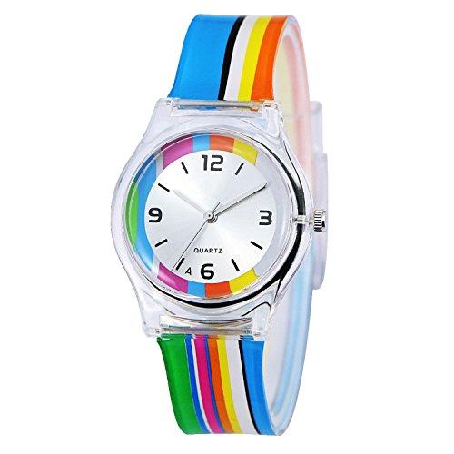 kkwell-lovely-childrens-watch-color-pattern-3d-quartz-watch-cartoon-students-watchesrainbow