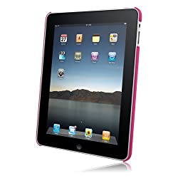 Rubberized SnapOn Cover for Apple iPad Hot Pink